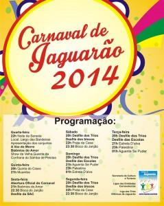 programacao - carnaval jag 2014