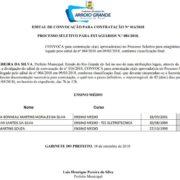 Prefeitura Municipal de Arroio Grande convoca três aprovados no Processo Seletivo do CIEE