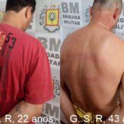 BM prende dois homens por mandado em Arroio Grande