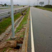 Furto de fios prejudica projeto de iluminação viária do Contorno de Pelotas